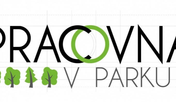Pracovna v parku - logo