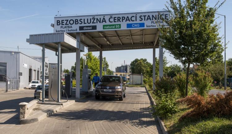 Čerpací stanice CNG se v Praze rychle rozšiřují