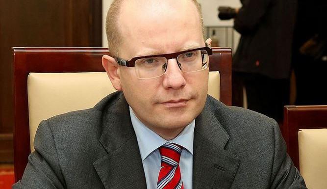 Vláda pomůže Praze s dopravními stavbami, slíbil premiér Sobotka