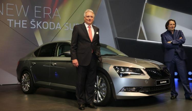 Škoda čeká u nového superbu o čtvrtinu vyšší prodej
