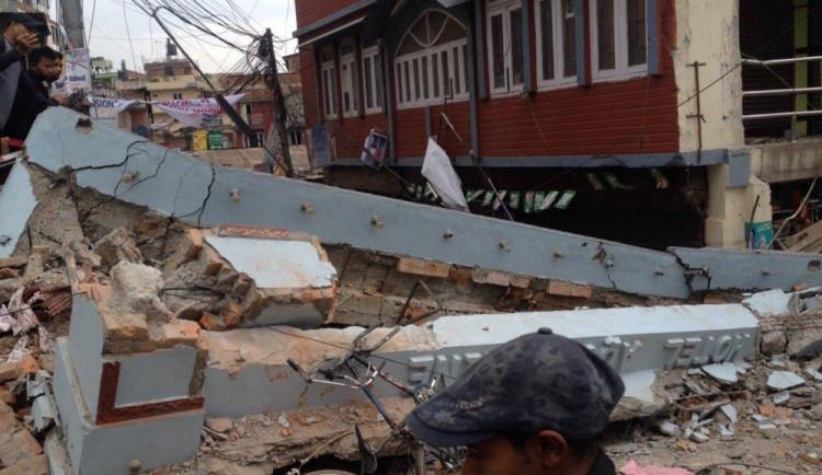 Čeští záchranáři odletí do Nepálu nejdříve dnes odpoledne