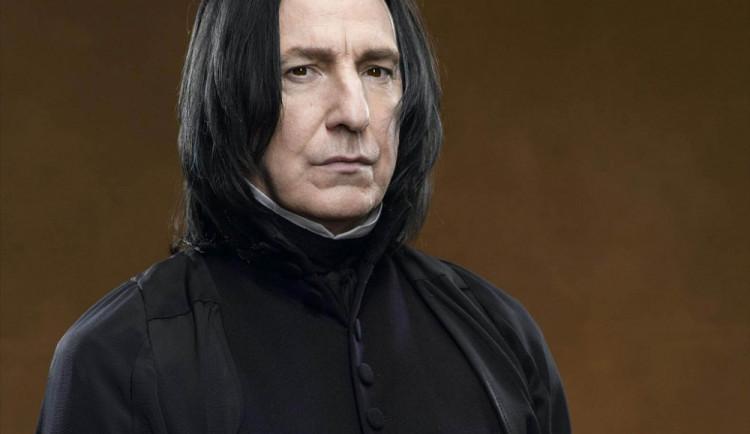 Ve věku 69 let zemřel britský herec Alan Rickman, představitel Severuse Snapea