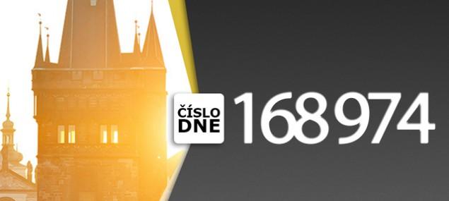 ČÍSLO DNE: 168 974