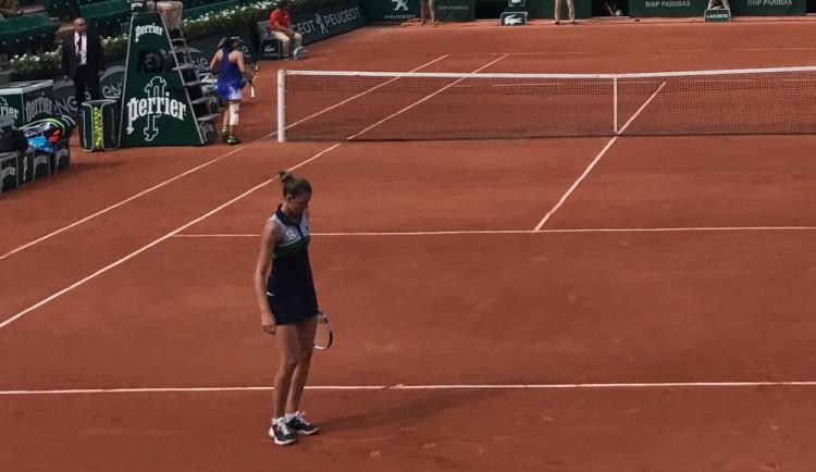 Nedávám na sebe tlak, mám ho od ostatních dost, ví Plíšková, nejvýše nasazená na French Open