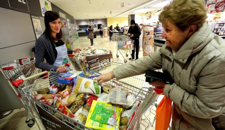 Lidé do Národní potravinové sbírky darovali rekordních 387 tun jídla a dalšího zboží