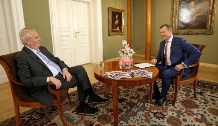 TV Barrandov výrazně favorizovala prezidenta Zemana, rozhodla Rada pro rozhlasové a televizní vysílání