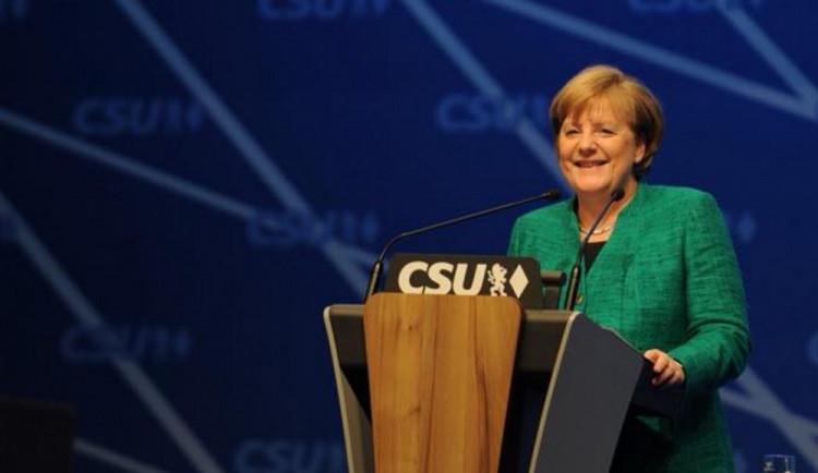 Angela Merkelová se počtvrté stala německou kancléřkou