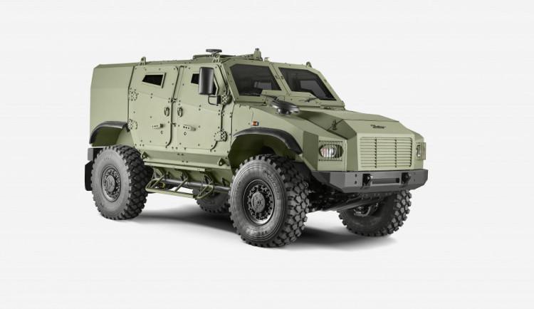 Seznamte se, tohle je nový Zetor. Výrobce zemědělské techniky představil obrněné vozidlo