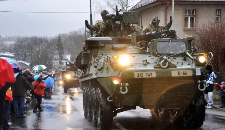 Českem projede příští týden konvoj americké armády