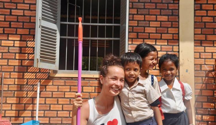Postavit školu bylo největší školou pro mě, říká Veronika Pospíšilová.