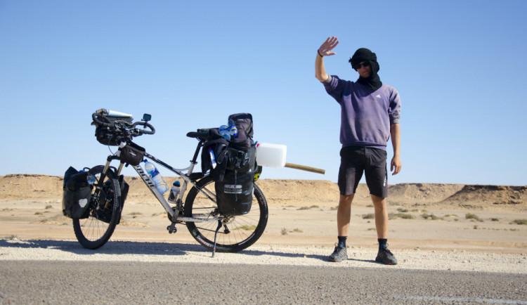 Expedice Na kole přes Afriku je u konce. Tadeáš Šíma přejel kontinent od severu na jih