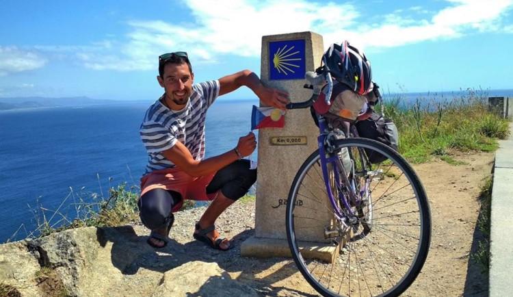 Na kole z Jihlavy až do slavného Santiaga. Jan Mráz urazil více než 3 tisíce kilometrů (1/2)