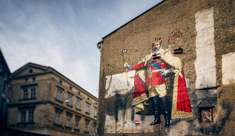 Vedle selfie krále v Olomouci vznikne nový murál, bude zobrazovat vědkyni Marii Curie-Sklodowskou