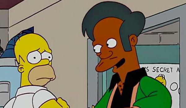 Americká korektnost zabila prodavače ze Simpsonů. Apu po třech desítkách let končí