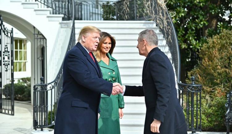 """FOTO: """"Český"""" Trump se setkal s opravdovým Trumpem"""
