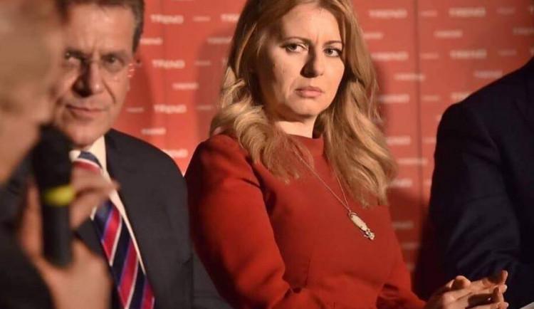 Čaputová a Šefčovič v druhém kole voleb prezidenta na Slovensku