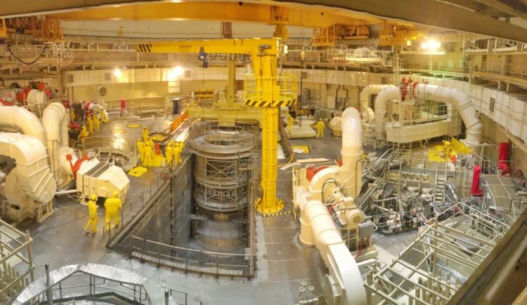 Do ochranné budovy kolem reaktoru nahnali 45 tun vzduchu. Temelín tak prošel bezpečnostní zkouškou