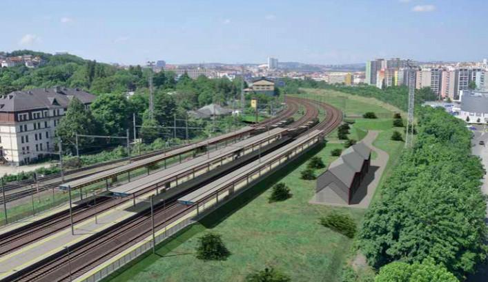Na hostivařské trati nastal další milník. Začala rekonstrukce železniční stanice Praha-Vršovice