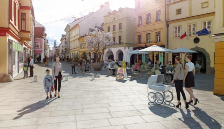Více života, méně aut. Tak vypadají vize nového náměstí v Budějcích
