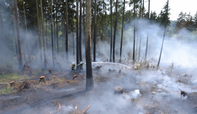 Varování před požáry platí ode dneška v celé zemi