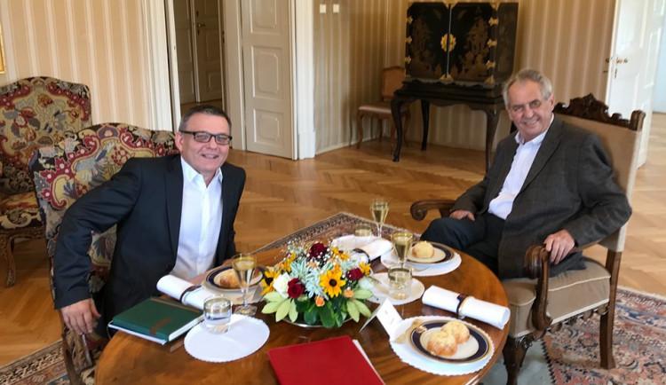 Zeman jmenoval Zaorálka, skončil spor o výměnu ministra kultury