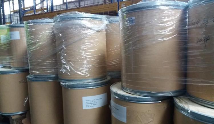 Tři tuny chemikálií byly deklarovány jako dovoz celulózy